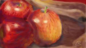 Apples by erickreillyart