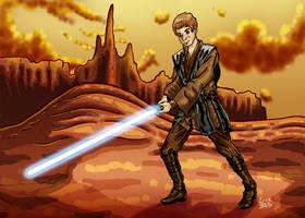 Anakin Skywalker by erickreillyart