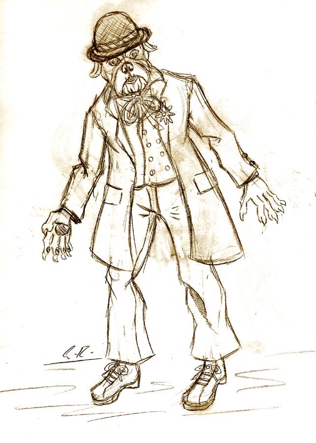 Fetcher Sketch by Erikku8