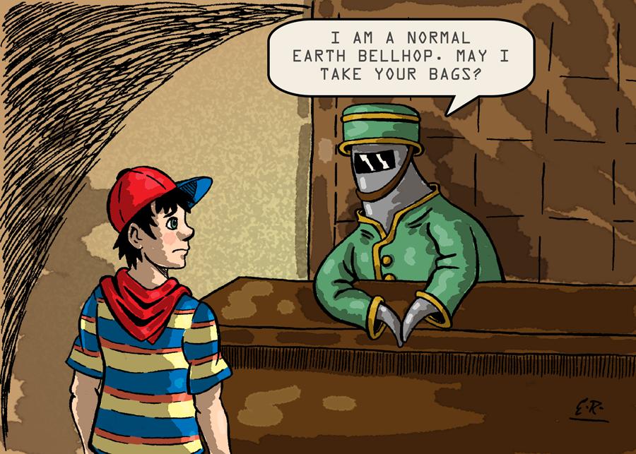 Normal Earth Bellhop by Erikku8