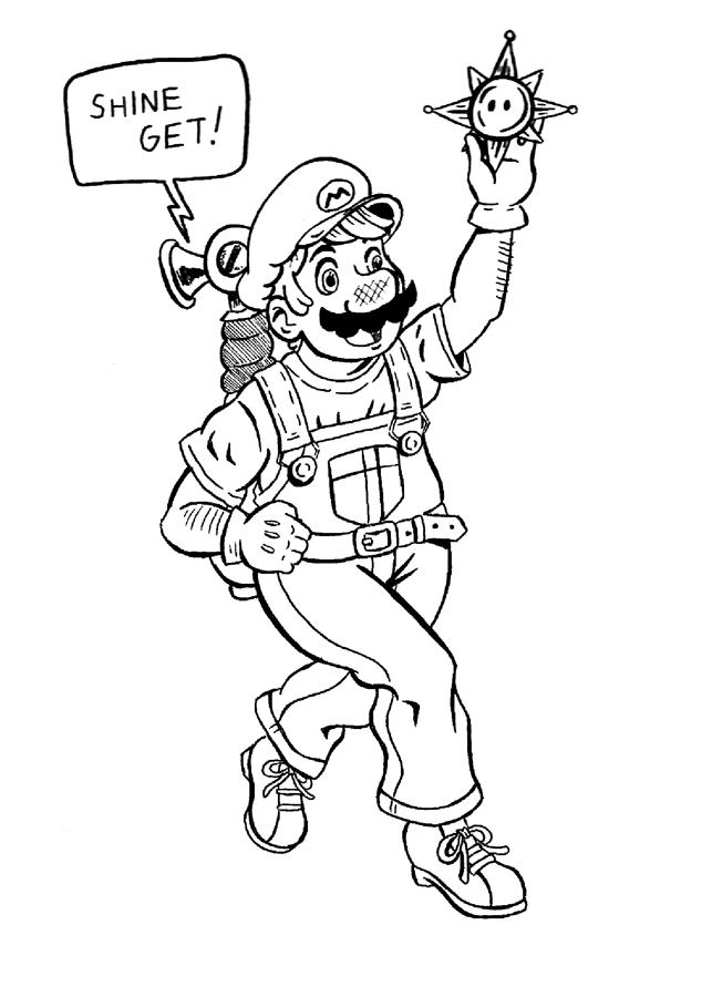 Weird Mario Sunshine by Erikku8