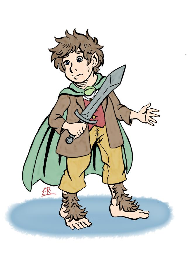 Frodo Baggins by Erikku8