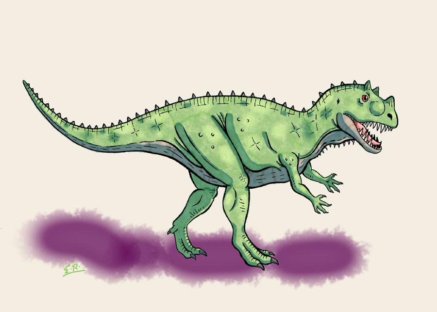 Ceratosaurus by Erikku8