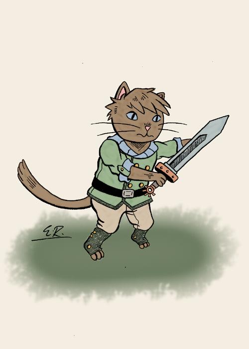Sword Cat by Erikku8
