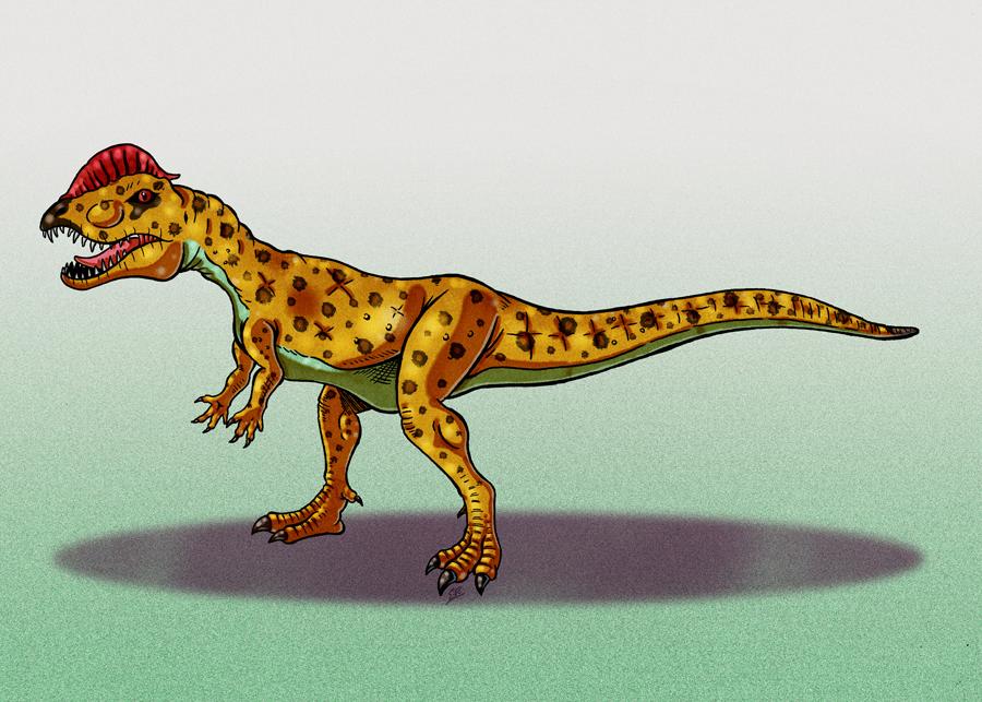 Dilophosaur by Erikku8