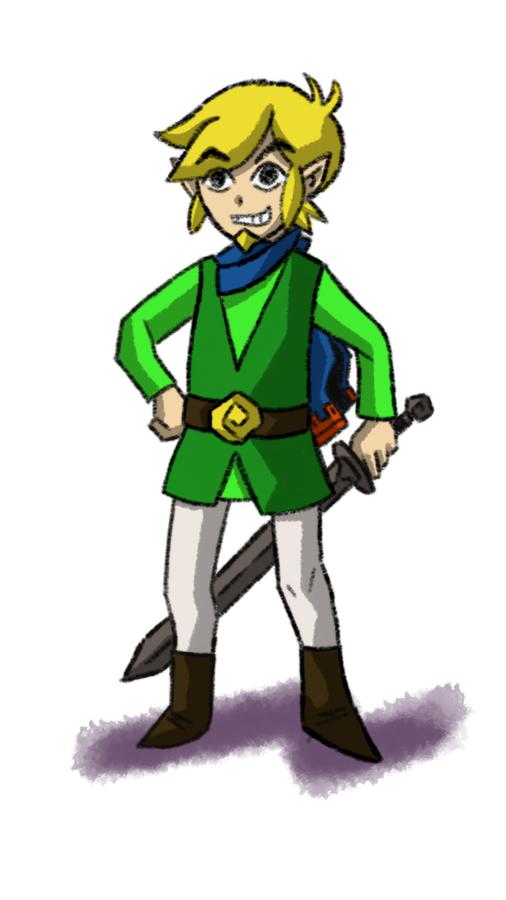 Adult Toon Link by Erikku8