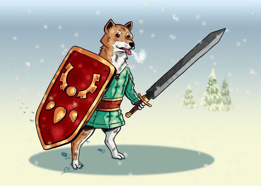 Lesser Dog by Erikku8