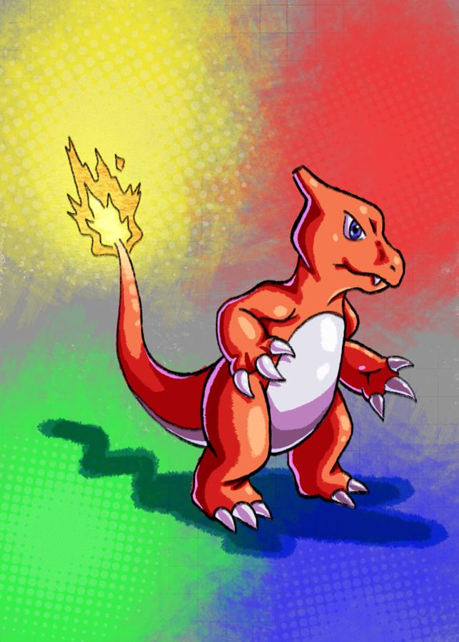 Charmeleon Doodle by Erikku8