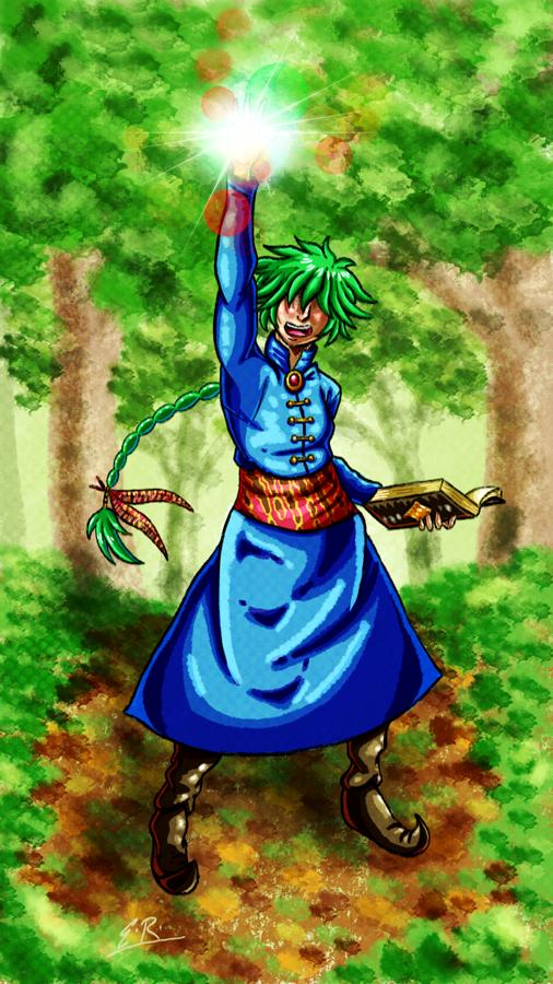 Green Witch by Erikku8