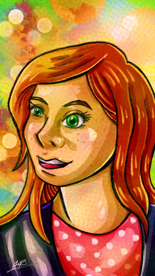 Red Hair by Erikku8
