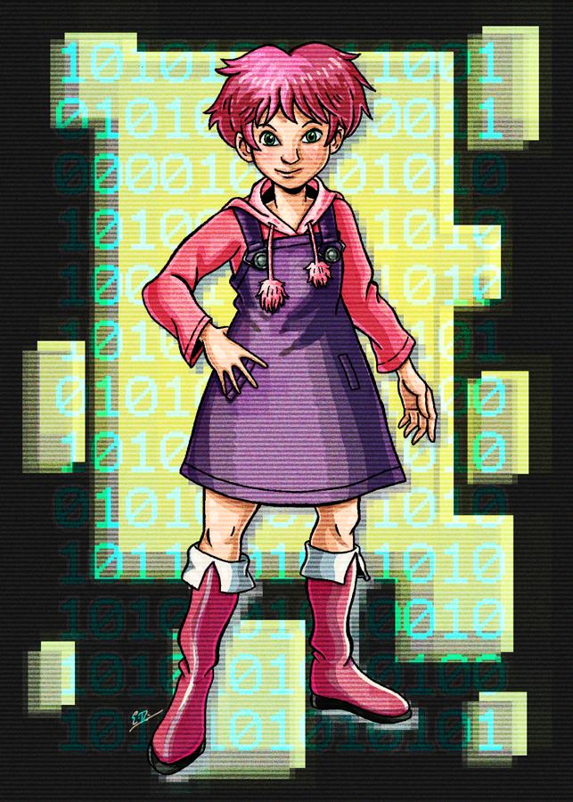 Aelita of Code Lyoko Fame by Erikku8