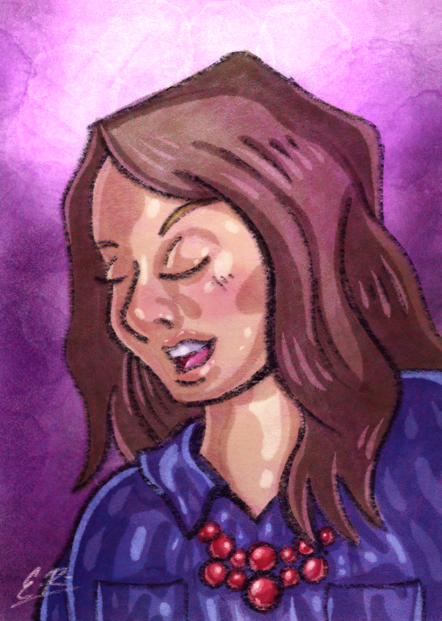Purple Girl by Erikku8
