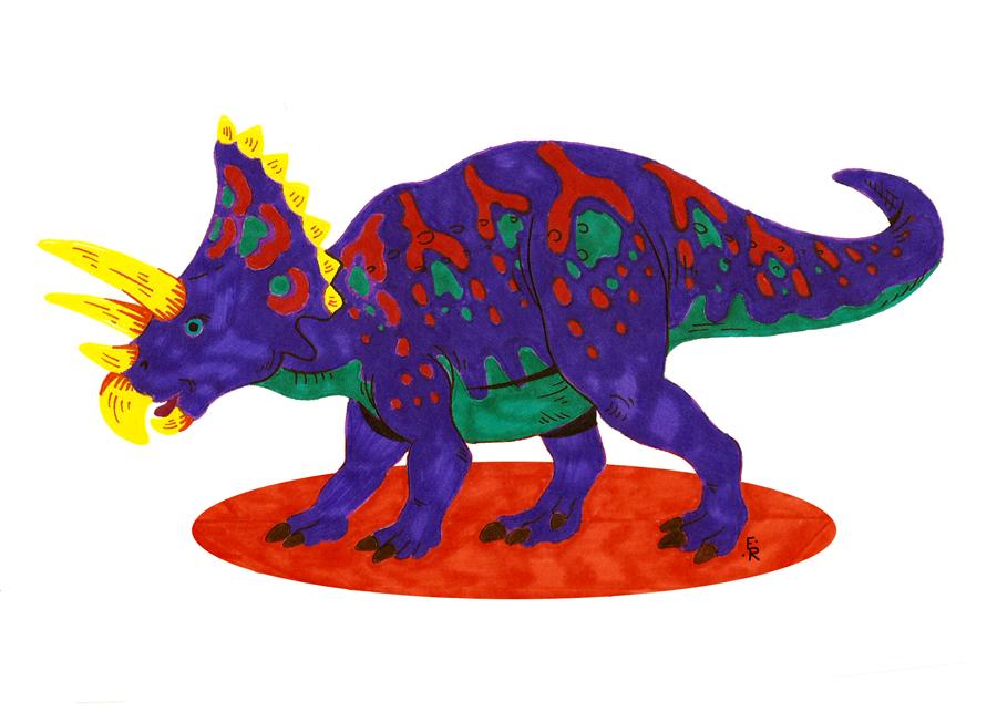 Triceratops by Erikku8