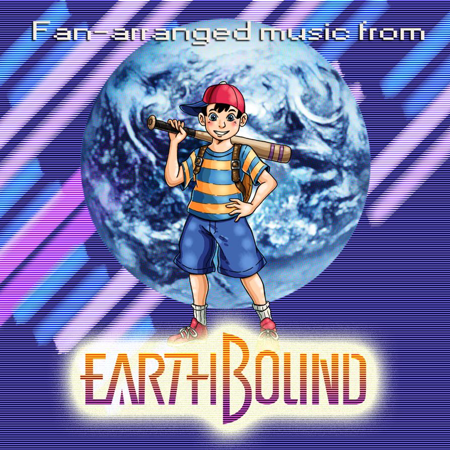 EarthBound iTunes Album Art Mockup by Erikku8