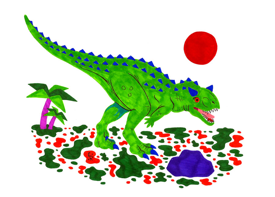 Carnotaurus by Erikku8