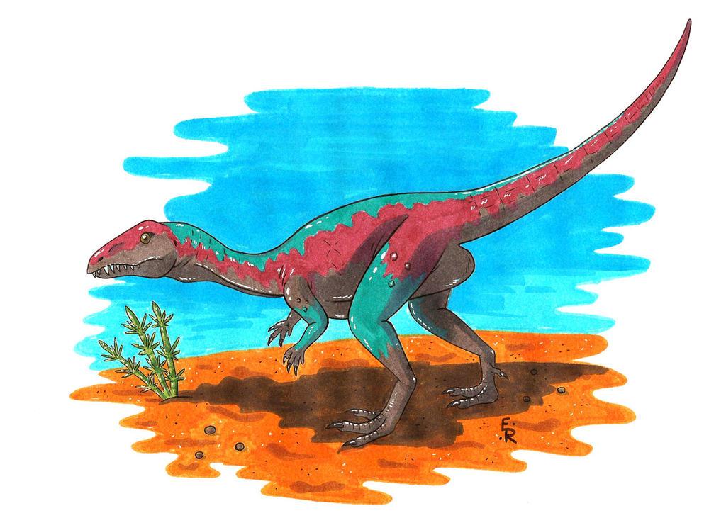 Eoraptor lunensis by Erikku8