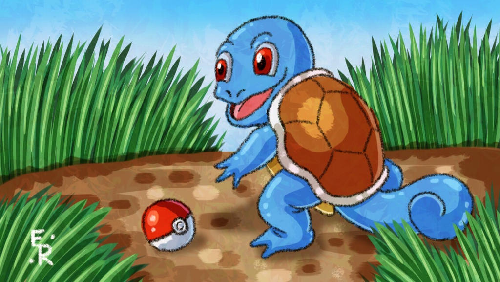 Squirtle  by Erikku8