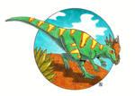 Stygimoloch by erickreillyart