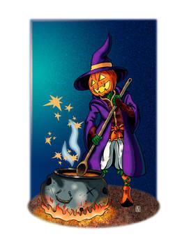 Pumpkin Warlock