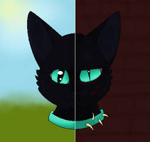 Two Sides of Scourge by The-Midnight-Owl