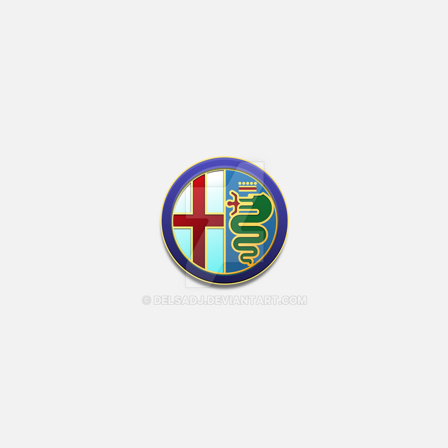 Alfa Romeo Logo By Delsadj On Deviantart