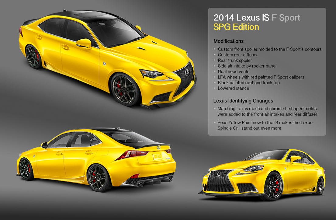 Lexus IS F Sport SPG Edition by Macross-fan