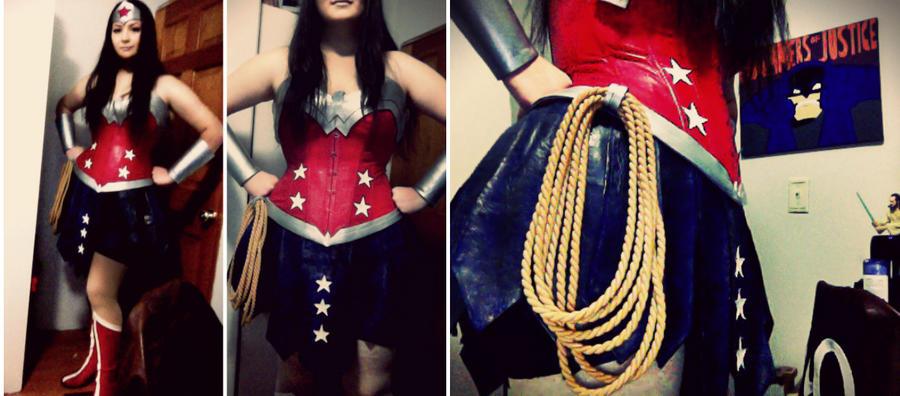 Wonder Woman Progress by Ashillingburg