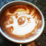 Scootaloo Latte by CappuccinoFrosting