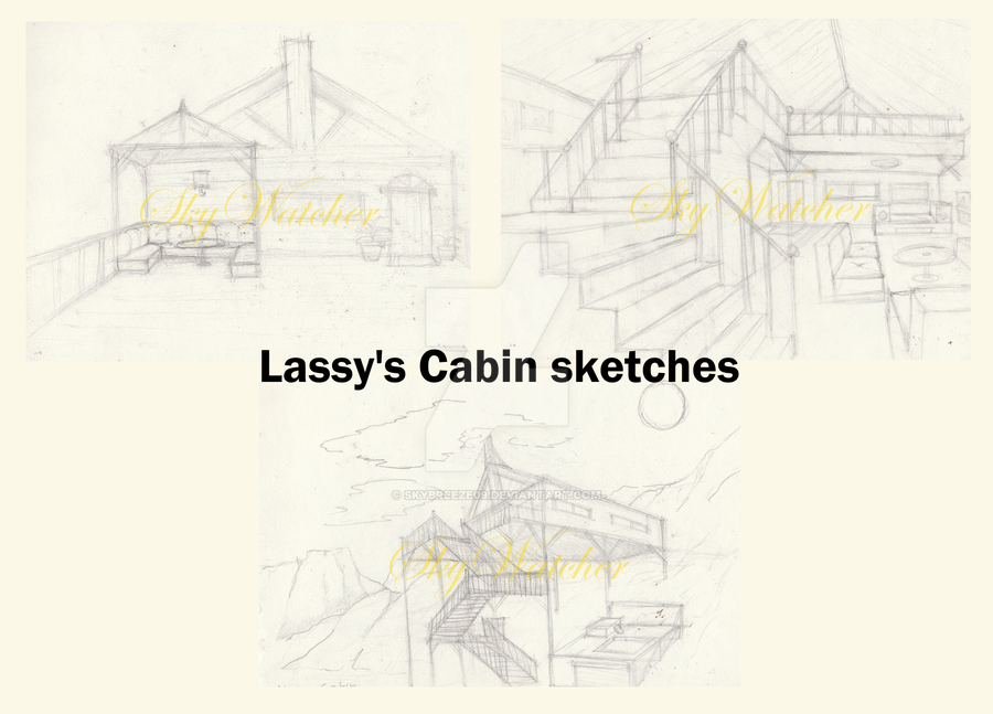 Lassy's Cabin sketches by SkyBreeze09