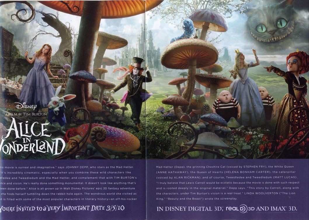 Alice in Wonderland by Nate-Lestrange