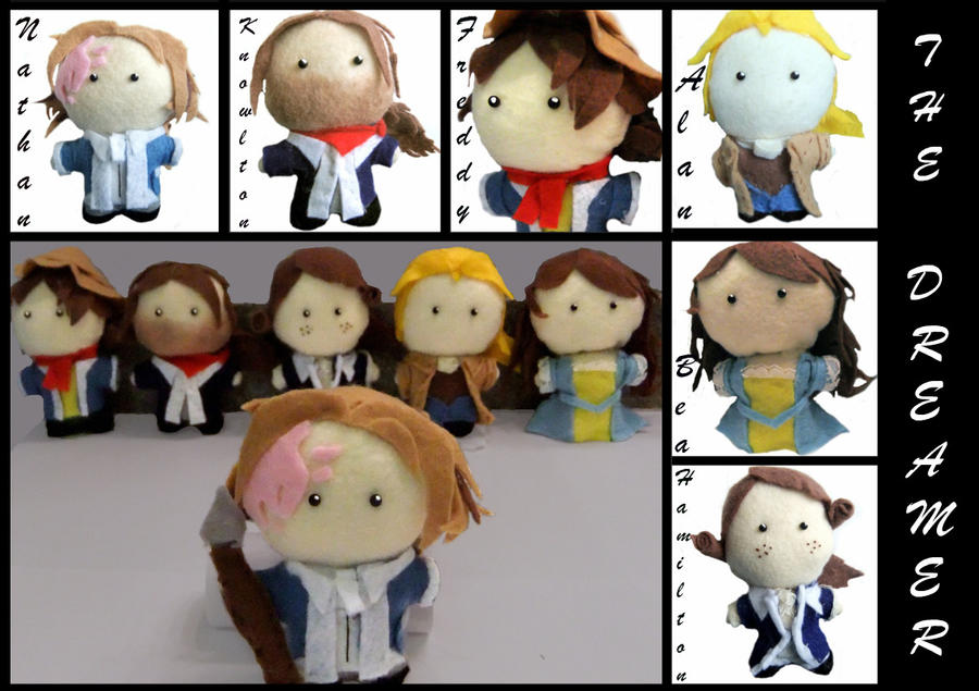 FanArtPolooza - Plushies by Mrs-Lovetts-Meat-Pie