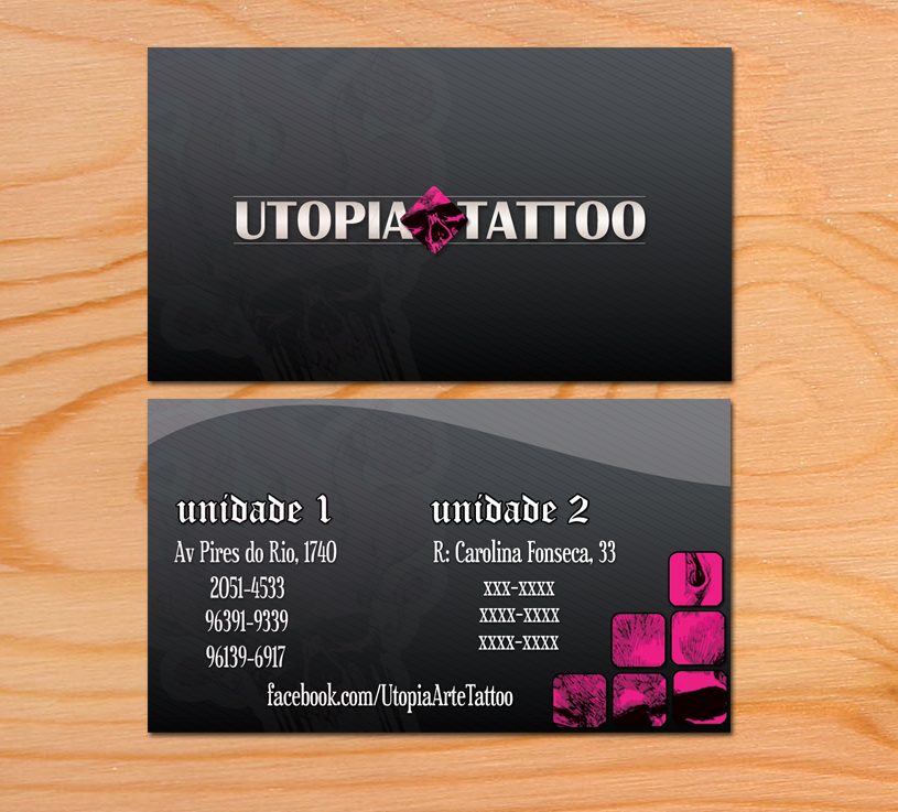 Utopia Business Card 2 by camilapavlla