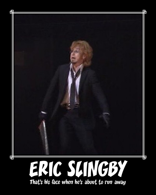 Eric Slingby poster by rangervieve