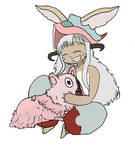 Made in Abyss- Happy Nanachi and Mitty