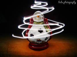 ... magic snow-man... by bogdanici