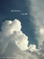 .:Open my eyes... I see sky:. by bogdanici