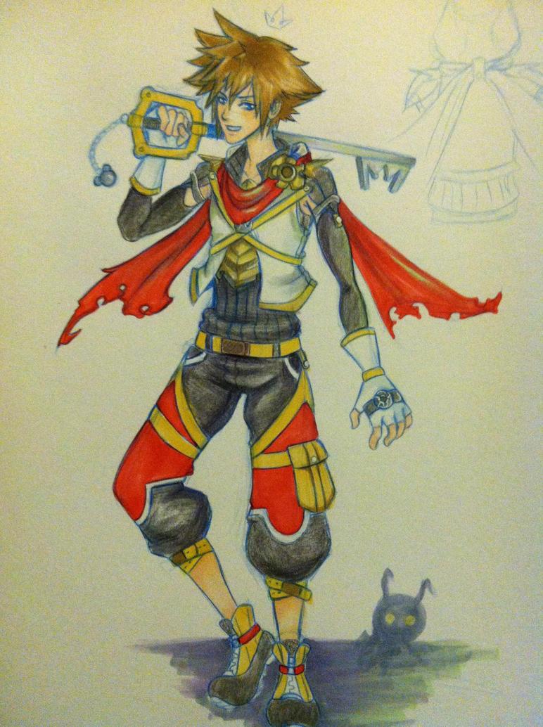 Sora-- Costume concept by SquirellArmyofOne