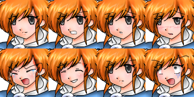 RPG Maker Character Sets 1 by lampjelly