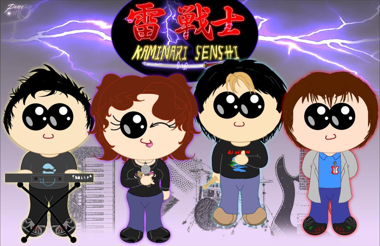 Kaminari Senshi - Commemorative tribute by Pumo-Torbernite