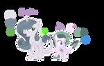MLP K4TVERSE | Sapphire and Jade