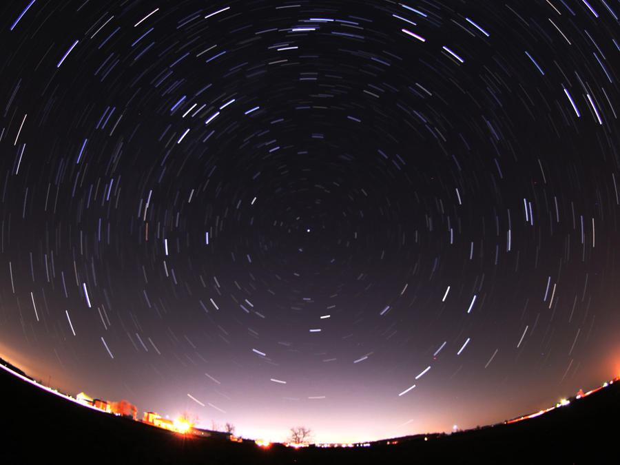 star trails 12 18 11 by twombold