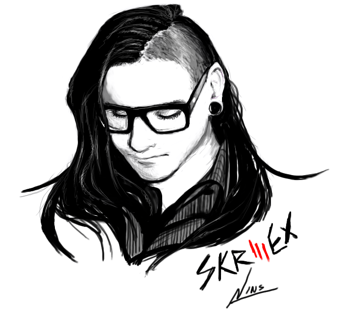 Skrillex Cartoon | lol-rofl.com
