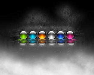 dark orbs by gvalkyrie