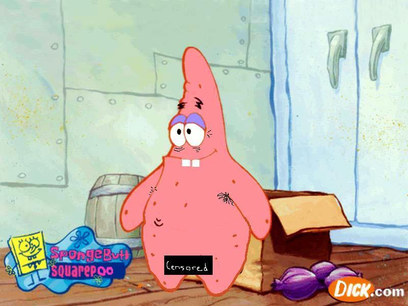 Patrick Star Naked 41
