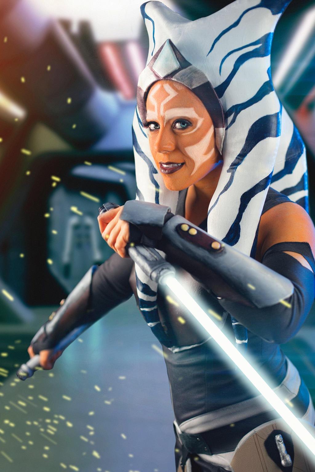 Ahsoka Tano from Star Wars Rebels cosplay by Jedimanda on