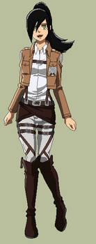 Shingeki no Kyojin OC : Kaira Ameru