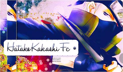 Hatake Kakashi Fc by NaomiLoveChan