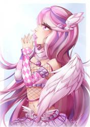 Lollipop Angel by Cynical-Pancake