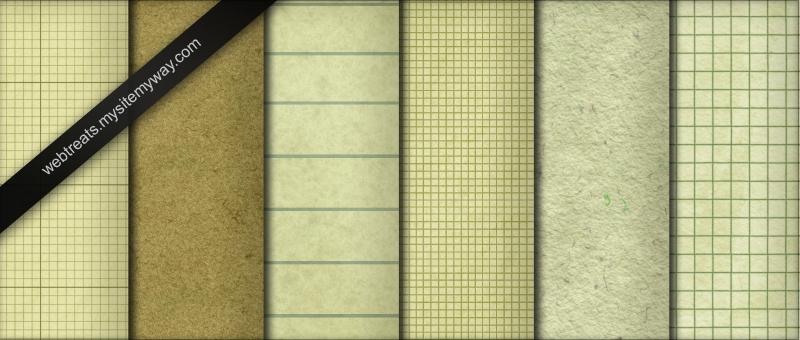 Seamless Paper Patterns by WebTreatsETC