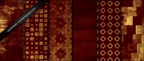 32 Deep Crimson Red Seamless by WebTreatsETC